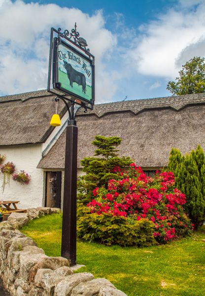 Etal photo, The inn sign