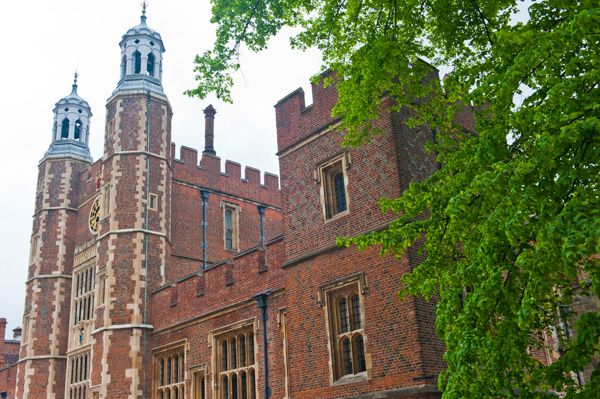Eton College photo, The entrance facade and gatehouse