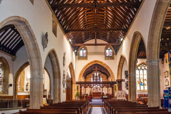 Evesham, All Saints Church, History & Photos | Historic