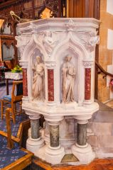 The 19th century pulpit, by Frederick Preedy