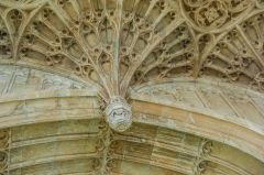 Perpendicular pendant vaulting in the chantry chapel