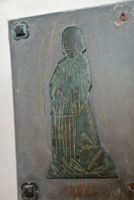 Ewhurst Green, St James the Great, Crysford memorial brass