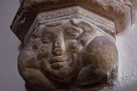 Ewhurst Green, St James the Great, Corbel head