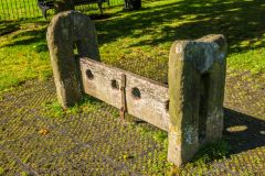 Eyam, The village stocks