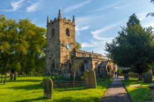 Eyam, St Lawrence Church