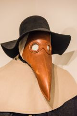 A doctor's plague mask