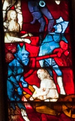Demons, west window