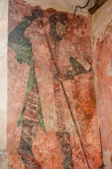 15th c St George wall painting