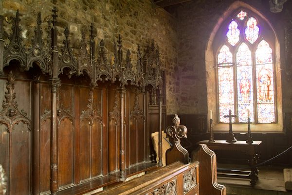 Farne Islands photo, Chapel Interior