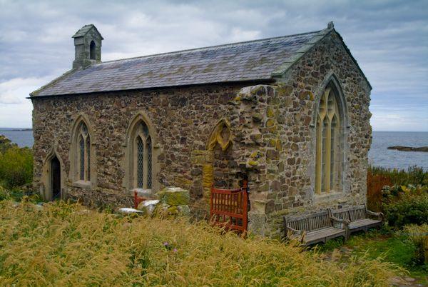 Farne Islands Photo Medieval Chapel Inner Farne