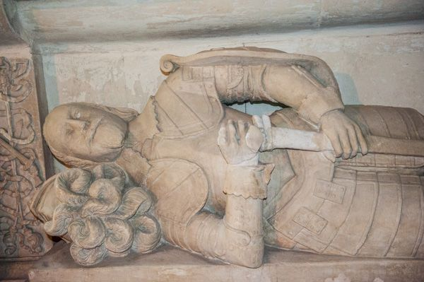 Farway, St Michael & All Angels Church photo, Sir Peter Prideaux effigy, 1643