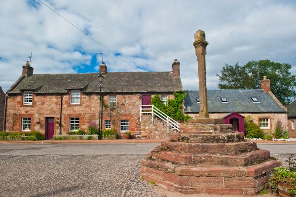 Fettercairn photo, The Mercat Cross and market square
