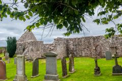 Fetteresso, St Ciaran's Old Church, From the churchyard