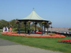 Filey, Filey bandstand in Crescent Gardens (c) JThomas