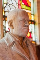 Fimber, St Mary's Church, Sir Tatton Sykes bust