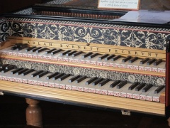 Adlam Burnett grand piano, 1785 (c) Oast House Archives