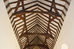 Fingest, St Bartholomew's Church, Late medieval timber roof