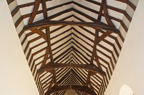 Fingest, St Bartholomew's Church photo, Late medieval timber roof