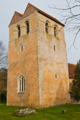 Fingest, St Bartholomew's Church, Saddleback west tower