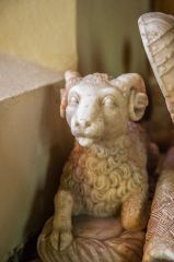 Firle, St Peter's Church, A sheep on the Sir John Gage memorial