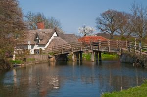 East Bergholt, Flatford Bridge