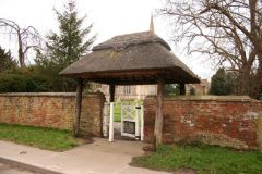 Fleet, The thatched lych gate (c) Richard Croft