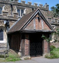 Flitwick, The medieval church porch (c) Gordon Cragg