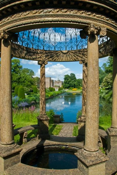 Forde Abbey  photo, The Ionic Tempietto