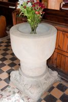 Fordon, St James' Church, Norman chalice font