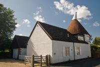 A traditional Kent oast house