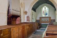 Fordwich, St Mary, North aisle and box pews