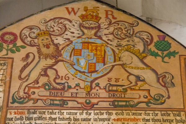 Fordwich photo, William III Royal Coat of Arms