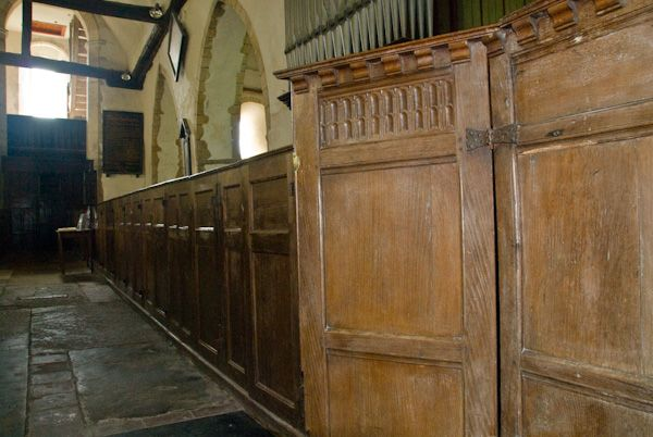 Fordwich, St Mary photo, Box pews