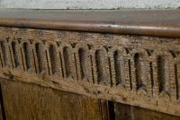 Fordwich, St Mary, Carving, box pews