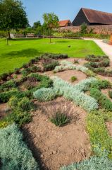Forty Hall, Medieval knot garden recreation
