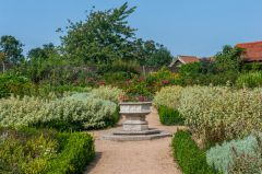 Forty Hall, The ornamental walled garden