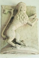 The Fotheringhay Castle lion