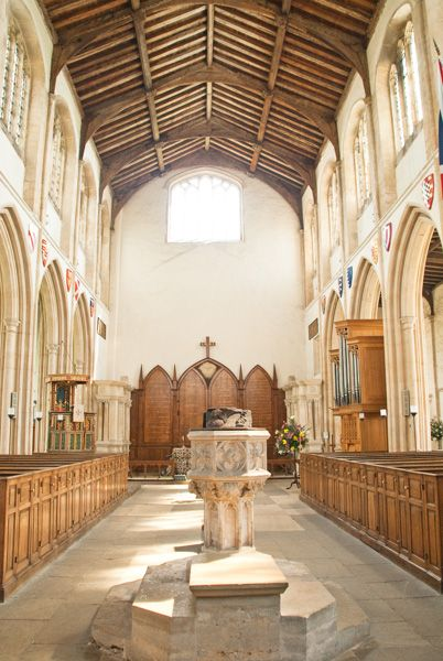 Fotheringhay, St Mary & All Saints Church photo, The church nave