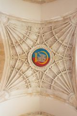 Tower ceiling fan vaulting