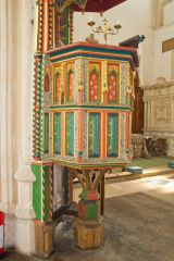 15th century pulpit