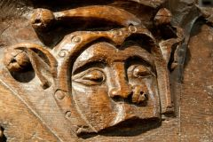 Fragment of medieval misericord