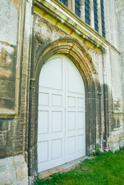 Fotheringhay, St Mary & All Saints Church photo, The west door