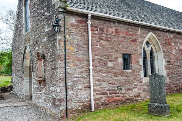 St Bean's Church and Fowlis Wester Sculptured Stone photo, The church exterior