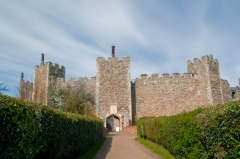 Framlingham Castle entrance