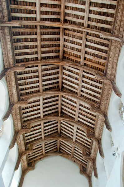 Fressingfield, St Peter & St Paul's Church photo, Signle hammerbeam roof