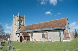 Friston, St Mary's Church, Exterior view