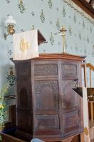 Friston, St Mary's Church, Jacobean pulpit