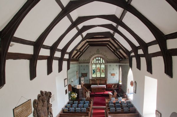 Friston, St Mary's Church photo, Looking down the nave