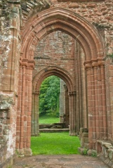 Abbey church archway