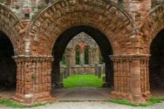 Abbey church arches